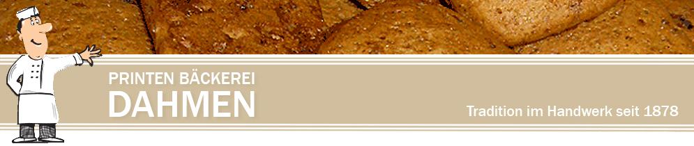 Printen Bäckerei Dahmen